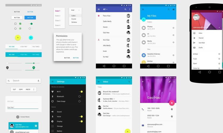 Jump-Start Your Android App UI With A Material Design Template
